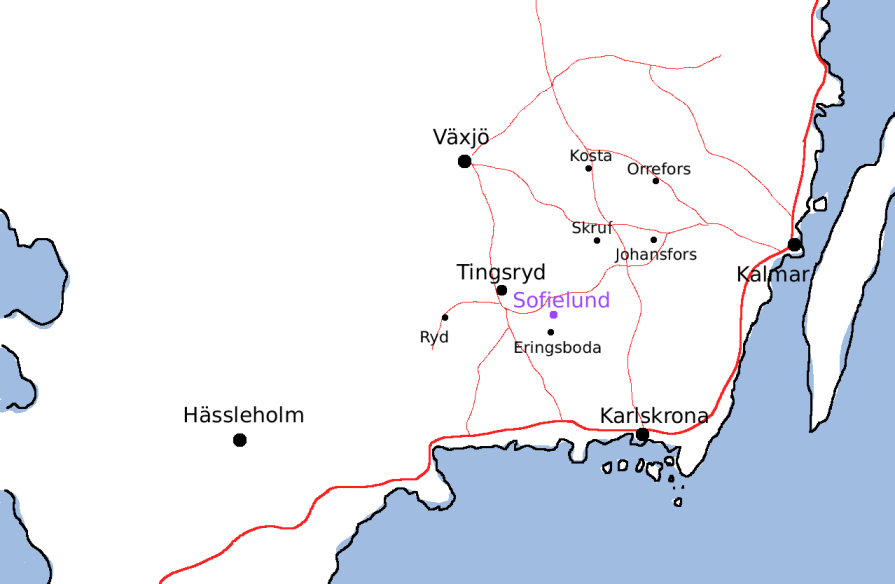 öland karta